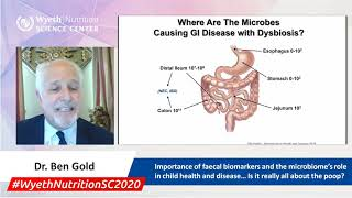 Importance of faecal biomarkers and the microbiome's role in child health and disease… Is it really all about the poop? - Dr. Ben Gold